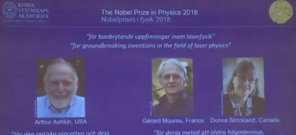 Nobel Prize / Twitter / Reprodução