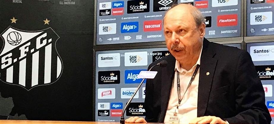Reprodução/Facebook/SantosFC