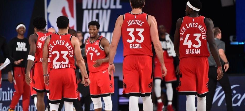 Reprodução/Facebook/Toronto Raptors