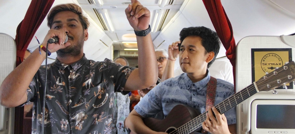 Handout/GARUDA INDONESIA/AFP