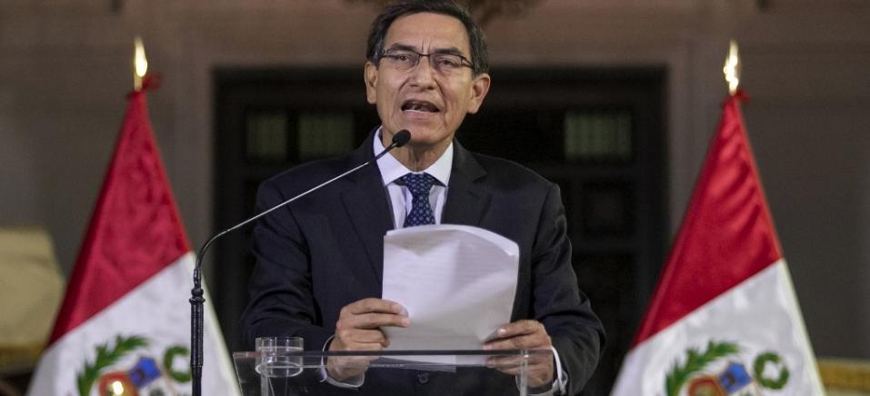 JUAN PABLO AZABACHE / ANDINA / AFP