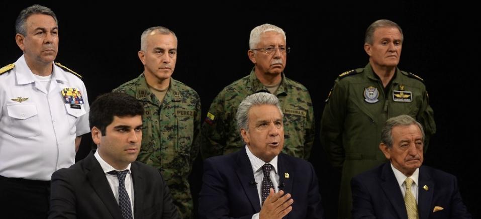 HO/ECUADOR'S PRESIDENCY PRESS OFFICE/AFP