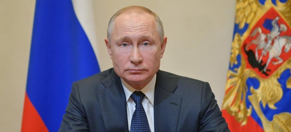 Alexey DRUZHININ / SPUTNIK / AFP