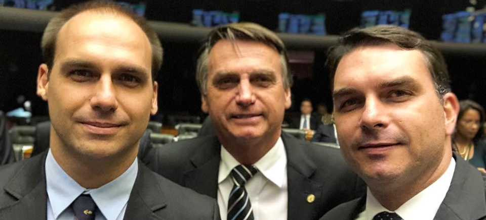 Reprodução/Facebook/Flávio Bolsonaro