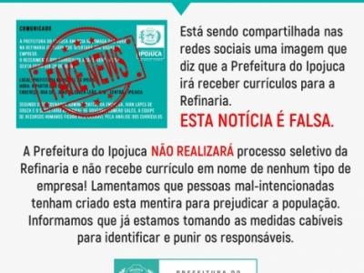 Divulgação/Prefeitura de Ipojuca