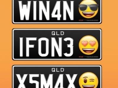 Reprodução/Personalised Plates Queensland