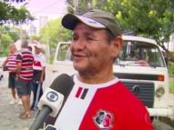Morre Naná da Kombi Coral, famoso torcedor do Santa Cruz
