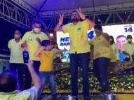 Prefeito de Joaquim Nabuco aglomera em evento político