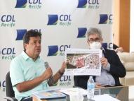 Mendonça promete ação para recuperar comércio pós-pandemia