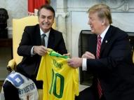Trump: 'Brasil e EUA nunca estiveram tão próximos'