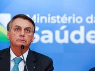 Bolsonaro ignora 500 mil mortes e deseja sorte a policiais