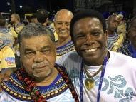 Neguinho da Beija-Flor lamenta morte do carnavalesco Laíla