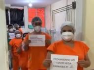 PI: sem pacientes, profissionais celebram fim da ala Covid