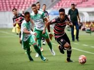 Santa Cruz domina o América na estreia do Pernambuco