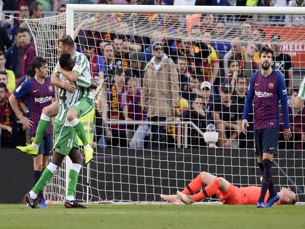 Betis surpreende e vence o Barcelona no Camp Nou b3501781e78c6