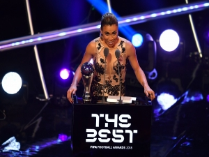 Marta é eleita melhor jogadora do Mundo pela 6° vez