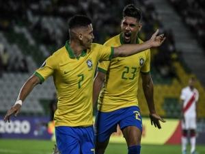 Brasil bate o Peru em estreia no pré-Olímpico