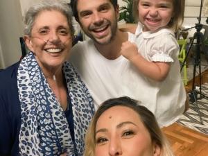 Leda Nagle agradece apoio dos médicos e elogia Duda