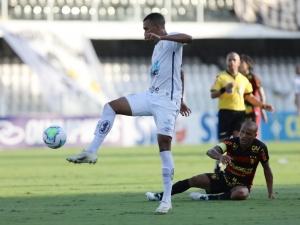 Sport esboça reação, mas Santos vence na Vila Belmiro