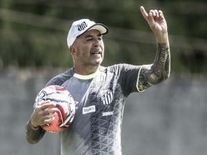 Após empate do Santos, Sampaoli evita fazer projeções