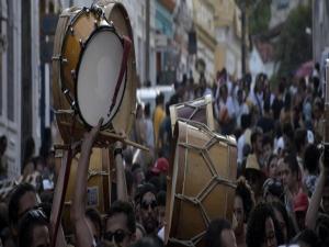 Prévias agitaram Olinda neste domingo (26)