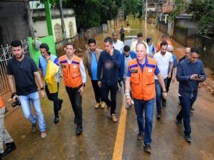 Mais de 600 estão desabrigados após chuvas no ES