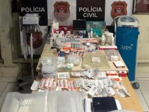 Polícia desativa clínica e prende falsa biomédica em SPSP
