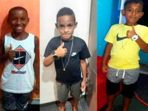Polícia acha suposta ossada de meninos desaparecidos no RJ