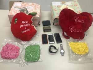 Polícia apreende 3 mil comprimidos de ecstasy em almofadas