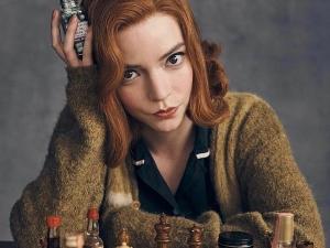 'O Gambito da Rainha' é a série mais assistida da Netflix