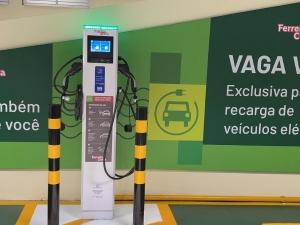 Recife ganha novo ponto para recarregar carros elétricos
