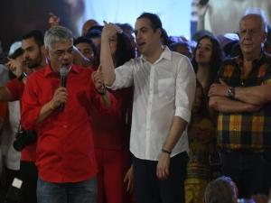 Humberto exalta Lula e Paulo Câmara