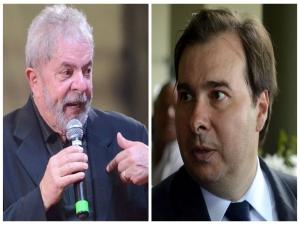 Lula deve se reunir com Rodrigo Maia