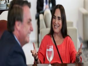 Regina Duarte convoca seguidores para ato bolsonarista