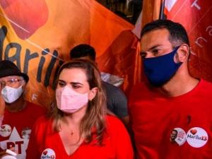 Campanha de Marília Arraes denuncia crime eleitoral