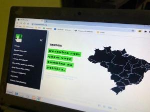 Ferramenta propõe 'matches' entre eleitores e candidatos