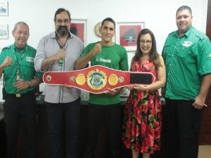 Paraense ganha título brasileiro de boxe com nocaute