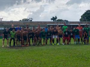 Seleção de futebol da UNAMA participa dos JUBs em Caruaru