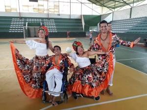 Bailarinos do Pará disputam campeonato em cadeira de rodas