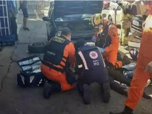 DF: Mecânico morre na queda de plataforma improvisada
