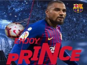 Barcelona anuncia Kevin-Prince Boateng como reforço
