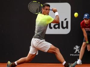 Rogério Dutra Silva perde na estreia no Rio Open