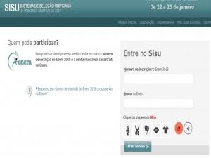 Sisu: candidatos relatam lentidão no site para inscrição