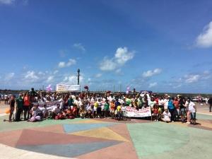 Caminhada lembra importância da adoção no Recife
